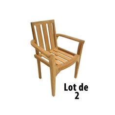 Lot de 4 chaises de jardin en plastique in 2019 | Products ...