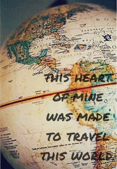 Wanderlust - a strong desire for or impulse to wander or travel and explore the world.