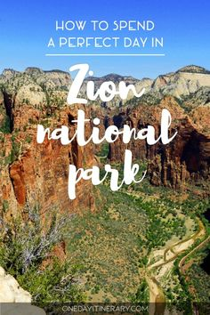 One Day in Zion Guide) – Top things to do and places to see - - What to visit in Utah? Go and spend One day in Zion and experience the power of nature in all its glory. The memories will last you a lifetime. Zion Park, Zion Utah, Us National Parks, Zion National Park, Places To Travel, Places To See, Travel Destinations, Nationalparks Usa, Travel Photographie