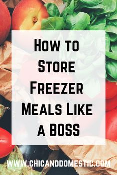 Freezer Cooking, Freezer Meals, Cooking Ideas, Cooking Recipes, Batch Cooking, Big Family, Like A Boss, Food Hacks, Crock Pot
