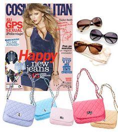 Ya han salido los números de Enero 2013 de las principales revistas de moda de España y en este artículo podrás saber los regalitos que traen con cada una de ellas. Promoción válida para España hasta Agotar Existencias.