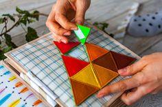 Паззл-треугольник