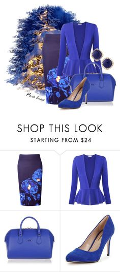 """December fashion at work"" by karin-davidson ❤ liked on Polyvore featuring WithChic, Patrizia Pepe, Miss KG and Frederic Sage"