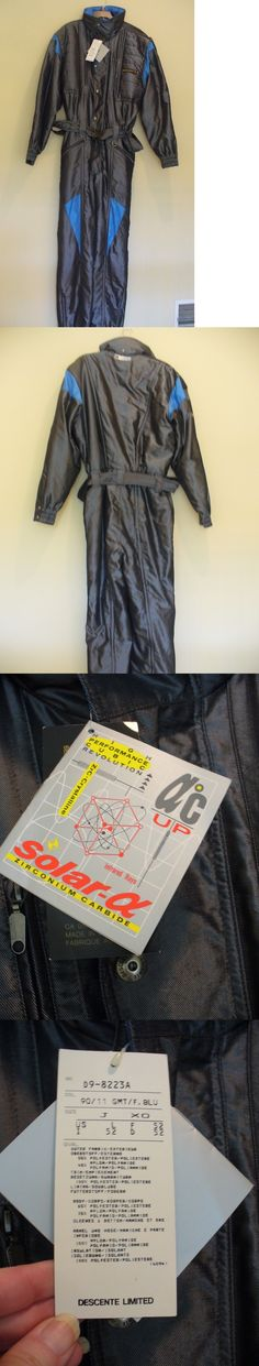 Snowsuits 62178: Nwt Mens Large Descente Vtg Snow Ski One Piece Suit Bib Snowboard New -> BUY IT NOW ONLY: $175 on eBay!