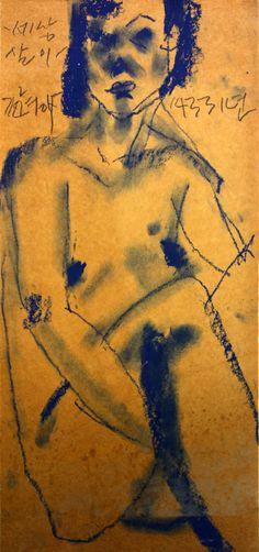 https://www.facebook.com/sahong.gum Gum-Sahong Drawing.Nude.Gold 금사홍,누드,드로잉,펜