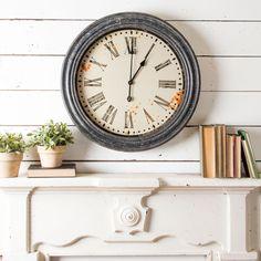Black Frame Clock – The Magnolia Marketb///28inch...