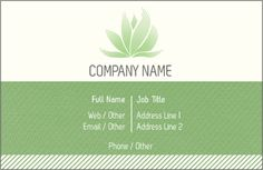 Why You'll Love Green Aloe Vera Deluxe Business Cards