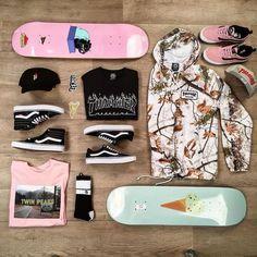 Vans skateboard vans skate vansskat… – Famous Last Words Skateboard Outfits, Skateboard Backpack, Vans Skateboard, Skateboard Design, Penny Skateboard, Vans Old Skool, Skate Longboard, Skater Girl Outfits, Emo Outfits
