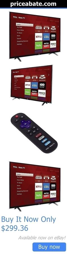 Smart TV: Tcl Roku 43 1080P 120Hz Led Smart Tv W/ 3000+ Streaminng Channels, Wifi, 3 Hdmi BUY IT NOW ONLY: $299.36 #priceabateSmartTV OR #priceabate