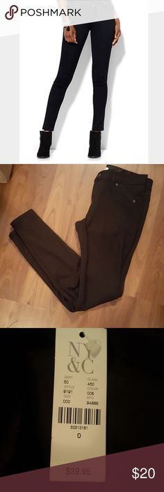 Black leggings Brand New with tags. Soho petite leggings  *reasonable offers accepted * Discounts on bundles * Fast shipper New York & Company Pants Leggings