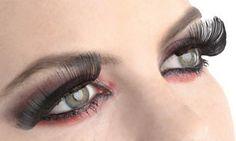 Full Black False Eyelashes