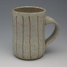 Stripe Pottery Mug