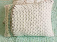 cushion pillow granny stitch