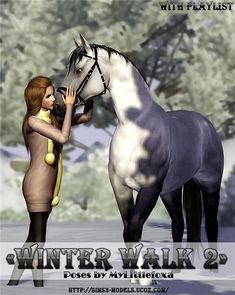 Winter walk 2 Poses set by Mylittlefoxa - Sims 3 Downloads CC Caboodle