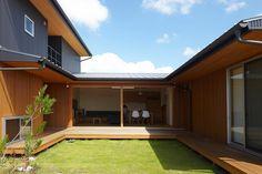 回遊できる縁側 君津の家 House in Kimitsu |
