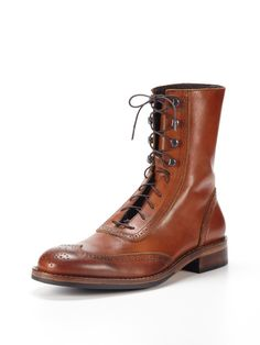 Brogue boots? What's not to like?!
