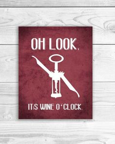 Wine Art Print Kitchen Sign Wine Quote Wine by SmartyPantsStudio, $16.00 | interiors-designed.com