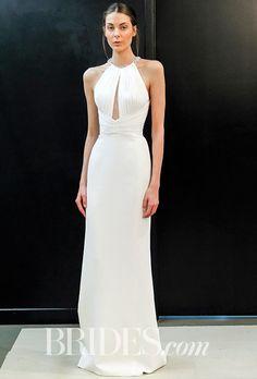 Brides.com: J. Mendel - Spring 2017 Wedding dress by J. MendelPhoto: Gerardo Somoza / Indigitalimages.com