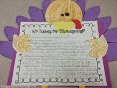 The Applicious Teacher: The First Thanksgiving and Turkey Writing
