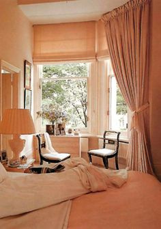 Curtain Styles That Work in Harmony With Your Home Curtain Styles, Curtain Designs, French Casement Windows, Roman Blinds, Window Treatments, Curtains, Bedroom, Home Decor, Mini
