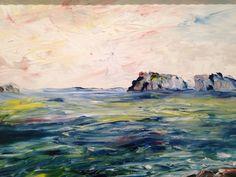 """Off The Irish Coast"", Jack Butler Yeats, Leeds Art Gallery Leeds Art Gallery, Scottish English, Irish Painters, Jack B, Galaxy Painting, English Artists, Irish Art, Celtic Art, Art For Art Sake"
