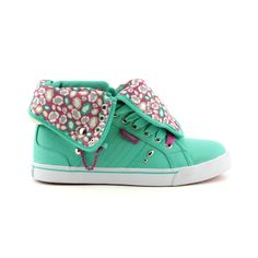 pastry sugar rus shoe in aqua/fuchsia Pastry Shoes, Hip Hop Sneakers, Crazy Shoes, To My Daughter, My Girl, Athletic Shoes, Sugar Rush, Aqua, Footwear