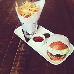 Burger & Fries at Palihouse (los angeles) // Instagram @bonnietsang