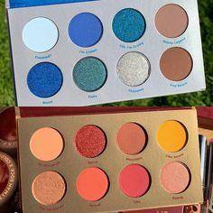 Colourpop Eyeshadow Palette, Colourpop Cosmetics, Eyeshadows, Glam Makeup, Makeup Art, Beauty Makeup, Hair Makeup, Makeup Guide, Makeup Ideas