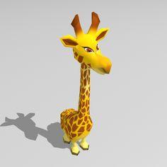 JardinMagic 3D - Girafe