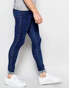 Denim Jeans, Skinny Jeans, Super Skinny, Fashion Online, Asos, Tights, Shopping, Men's Casual Wear, Men