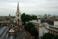 Cmglee London Spitalfields aerial - Christ Church, Spitalfields - Wikipedia, the free encyclopedia Thomas Gainsborough, Soho, Nicholas Hawksmoor, Pickup And Delivery Service, Moving Services, Greater London, Pick Up, Paris Skyline, Christ