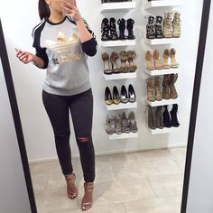 """Denise Melissa on Instagram: """"Adidas✔️ #love #fashion #adidas #sweater... ❤ liked on Polyvore featuring tops, sweaters, rose gold sweater, rose gold top, adidas, adidas top and adidas sweater"""