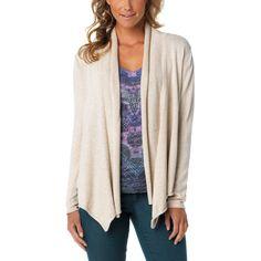 Lightweight cream cardigan - from prana.com