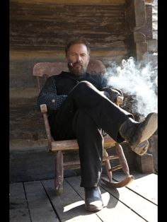 Kevin Costner in HATFIELDS AND MCCOYS