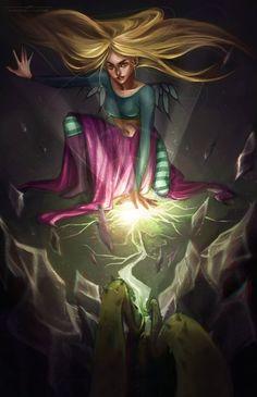 W.I.T.C.H- Guardian of Earth by Maaronn on DeviantArt