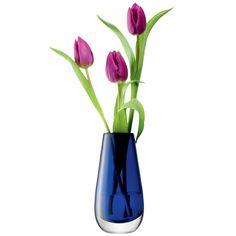Stunning LSA vase with stunning tulips