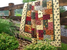 """Quilts are what beds are supposed to be clothed in. There's nothing that says """"home"""" more."""