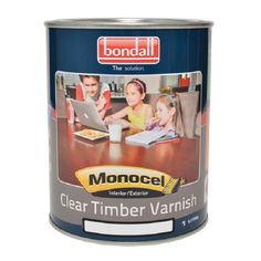 Find Bondall 1L Satin Monocel Clear Timber Varnish at Bunnings Warehouse. Visit your local store for the widest range of paint & decorating products.