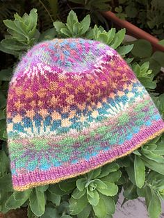 afdaa7dce64 Islamic Geometry Beanie pattern by Julie Linsenmeyer