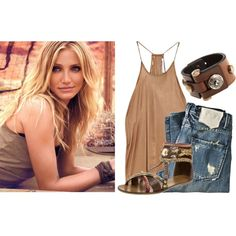 Cameron Diaz, created by hsaas91 on Polyvore