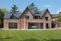 5 bedroom detached house for sale in Carrwood, Hale Barns - Rightmove. Bungalow Exterior, Bungalow Renovation, Modern Farmhouse Exterior, Dream House Exterior, Barn House Plans, Dream House Plans, 5 Bedroom House Plans Uk, Style At Home, House Extension Design