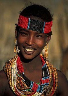 A smile: Turmim, Hamer Gird, Ethiopia