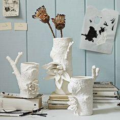 Ceramic Matters Branch Vases #WestElm  @Sara Leggett these are really pretty!