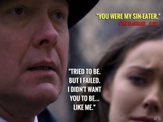 Because this was such a totally defeated #Reddington moment... #Spader #TheBlacklist #MeganBoone #TomConnolly #RocketMan