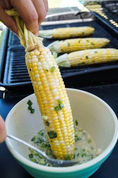 Pot Ang (Cambodian Grilled Corn)