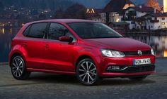 #Volkswagen #Polo.  El Diseño compacto y los afilados bordes laterales confieren una apariencia más alargada.