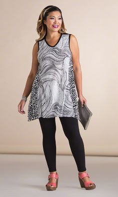 Gibson Tunic/ MiB Plus Size Fashion for Women