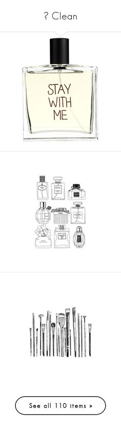 """""""♥ Clean"""" by pantherinae on Polyvore featuring LIPSTICK, makeup, nailpolish, beauty products, fragrance, perfume, beauty, fillers, accessories and edp perfume"""