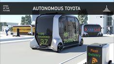 E-Palette - Toyota Autonomous Vehicle at CES 2019 Pizza Delivery, Consumer Electronics, Toyota, Las Vegas, Palette, Cars, Vehicles, Pizza Home Delivery, Last Vegas