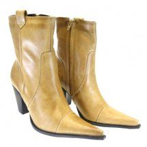 Bota Cano Curto Natural  1020